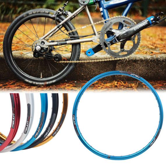 Bicycle Rim Wheel Rim Disc brake Folding Bike Aluminum Alloy Durable Useful New