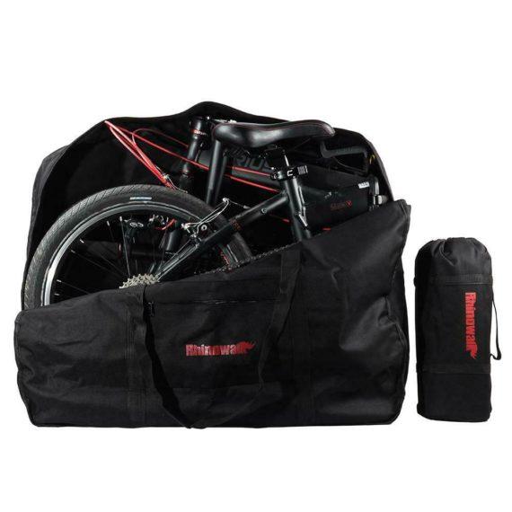 RHINOWALK Folding Bike Bicycle Carrier Bag Loading Package Carrying Bag ⑧Y