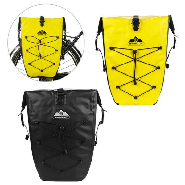 Folding bikes Bicycle bag MTB Luggage Bag Panniers Waterproof Side frame