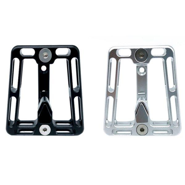 For Brompton CNC Front Carrier Folding Bike Bag Bracket Carrier Holder CNC  D6E6