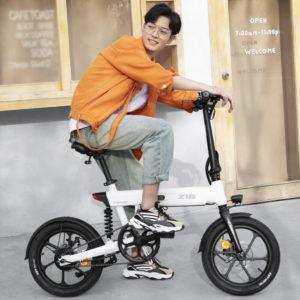 HIMO Z16 16 Inch Folding Bike Electric Bicycle Moped E-Bike Citybike 10AH 25km/h
