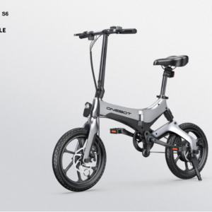 Onebot S6 - 20 inch electric folding bike - Grey black