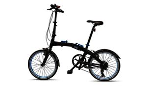 "BMW 20"" Folding Bike - Black/Blue (RRP £600) 80912447964"