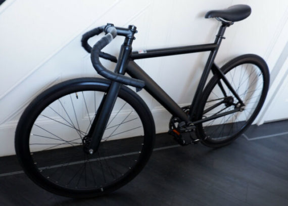 State Bicycle Co  Company Fixed Gear Bike, Carbon Forks, Matt Black, Hardly Used