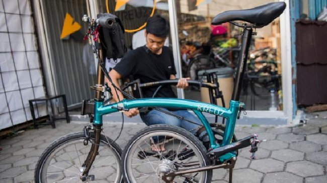 Kreuz Folding Bike Builds New Factory to Meet Overwhelming Orders - Tempo.co English