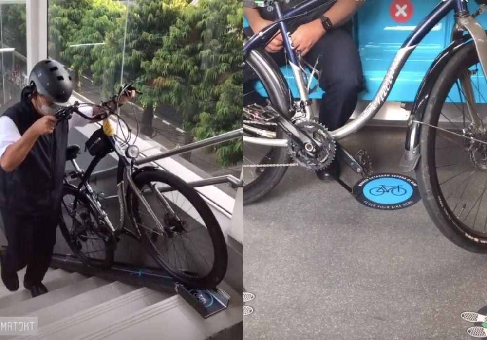 Non-folding bikes are now allowed on Jakarta's MRT - Coconuts Jakarta
