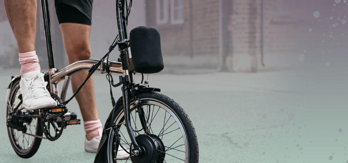 Electric folding bike: Convert your Brompton bike to an e-bike | The - The Resident