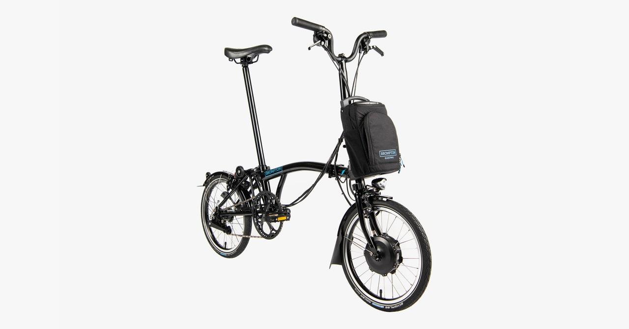 Brompton Electric Folding Bike Review: Stylish but Sluggish - WIRED