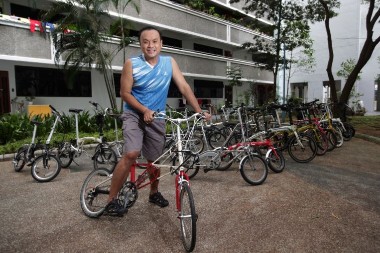 Folding bicycles sell like hot cakes in S'pore as more take up cycling during Covid-19 pandemic - The Straits Times