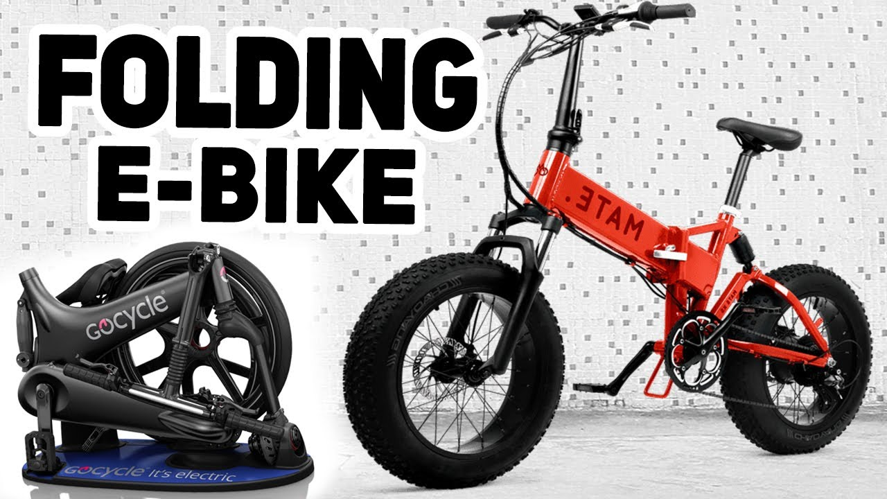 Top 5 Folding Electric Bikes 2019 - YouTube
