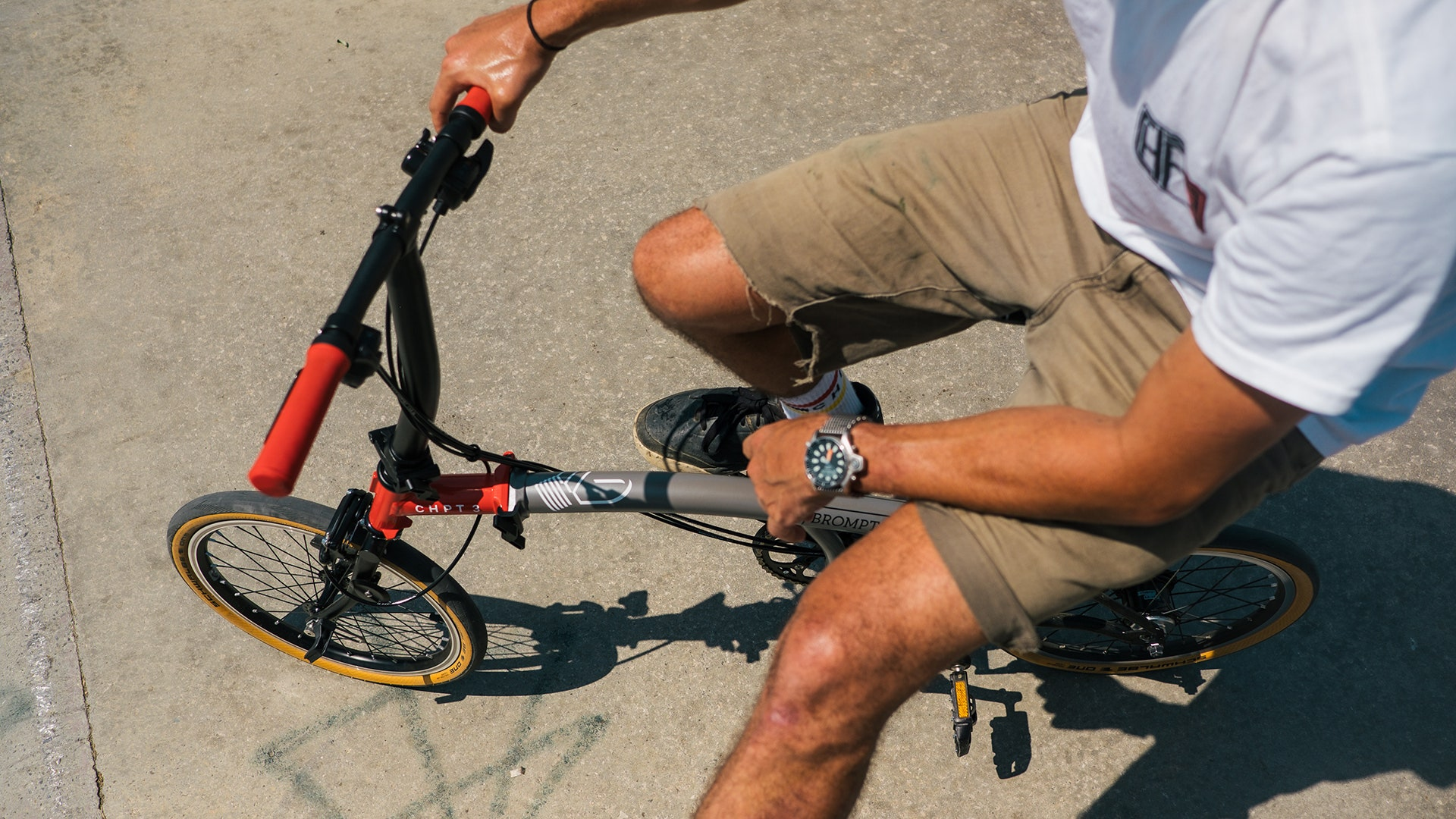 The Brompton x CHPT3 is a folding bike with style to spare - British GQ