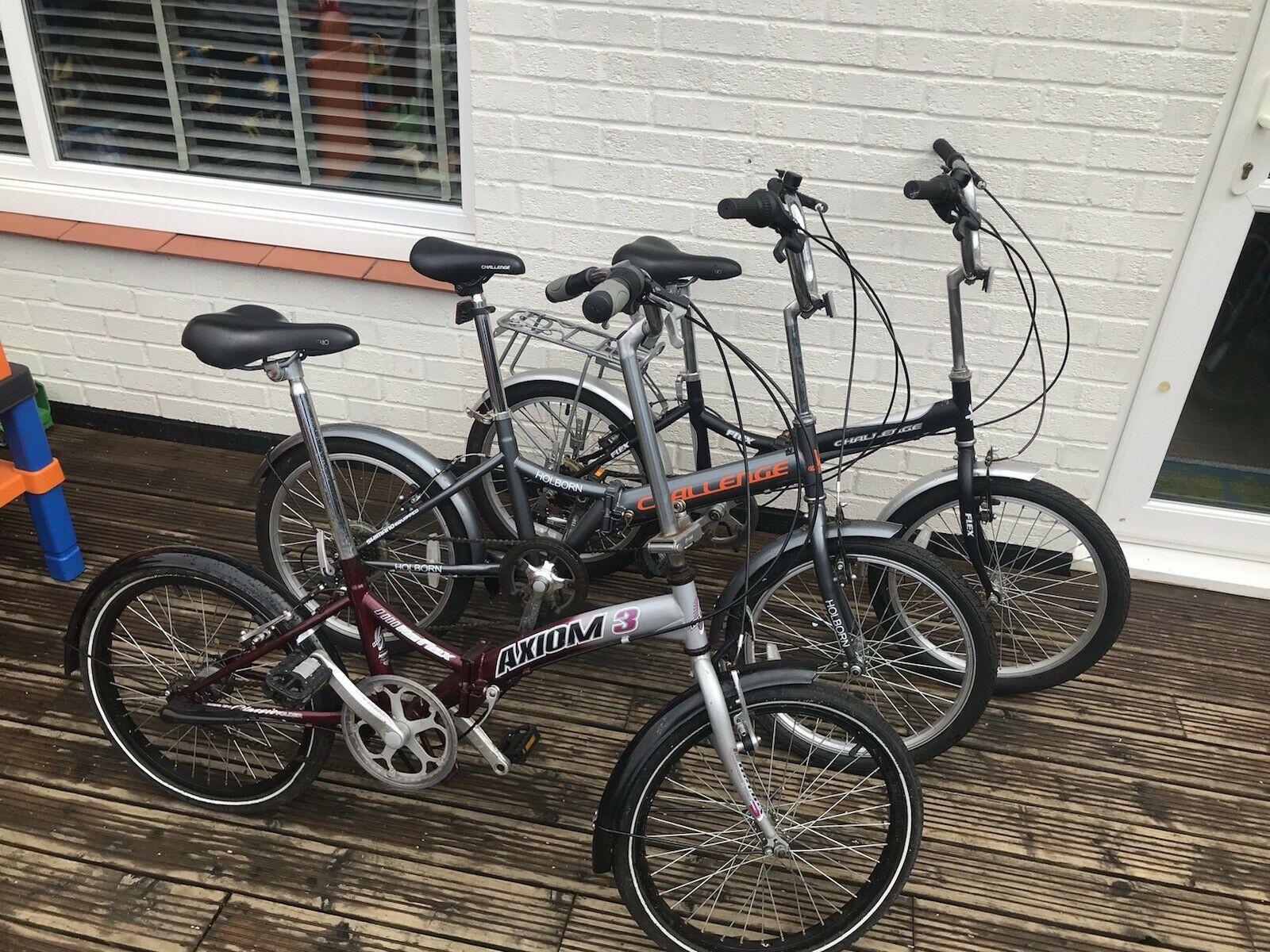 "Orus 20/"" 50 cm Alloy Folding Adult Bike 7 Speed unisex Padded Sports commute"