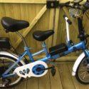 Adult Child Tandem Fold Up Electric Bike  250w 36v Battery Custom Bike – Folding Bikes 4U