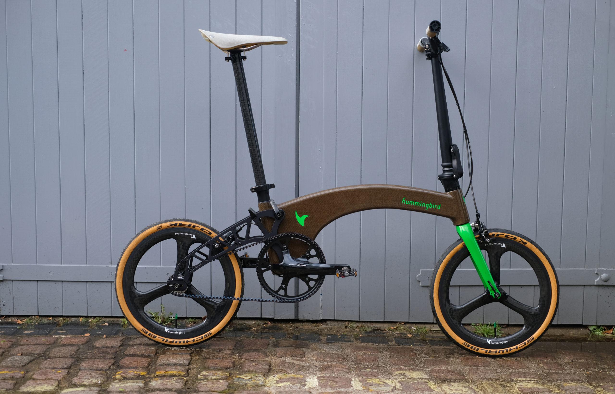 Hummingbird grows the world's lightest folding bike - Cyclist