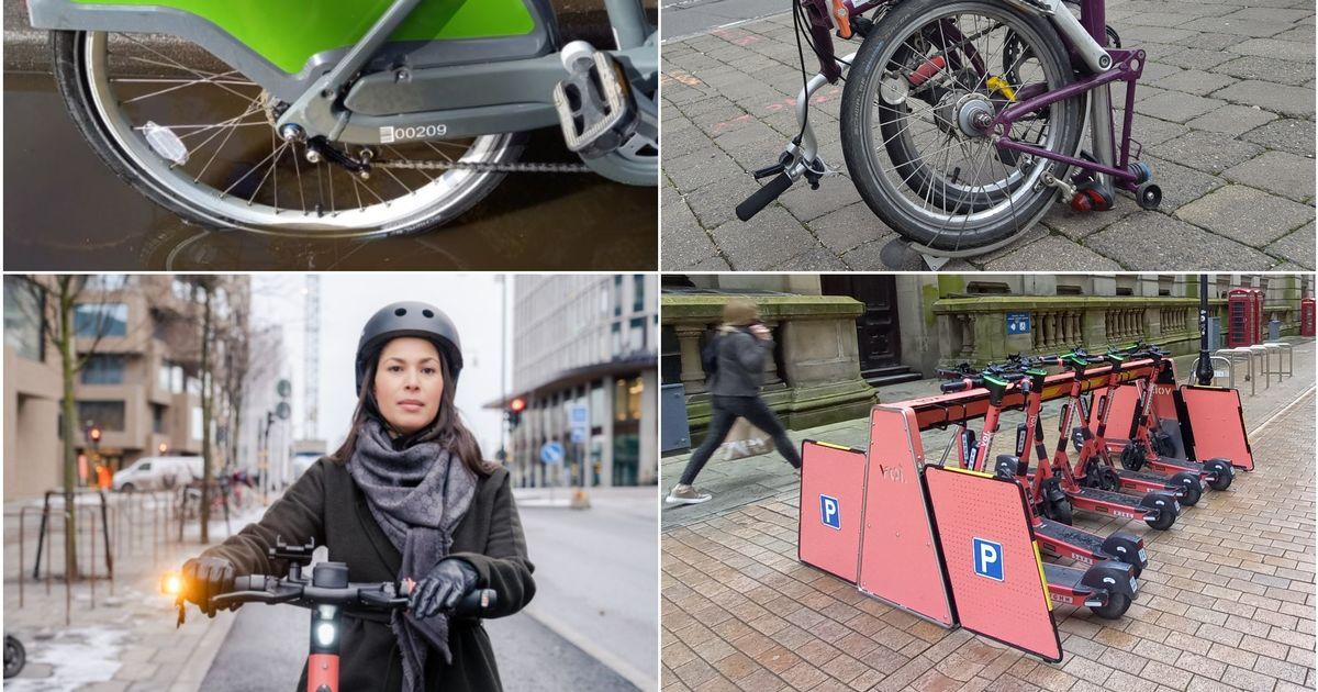 Boris Bikes vs Voi scooters and Brompton folding bikes - and the winner is... - Birmingham Live