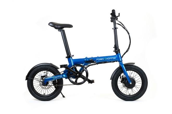 Perry eHopper electric folding bike launches in UK | Gear - Bike Biz