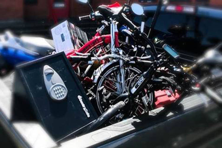 Victoria police look to reunite folding bike with owner – Saanich News - Saanich News