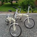 A pair of.. 2….Raleigh stowaway 7 airlite aluminium adult folding bi – Folding Bikes 4U
