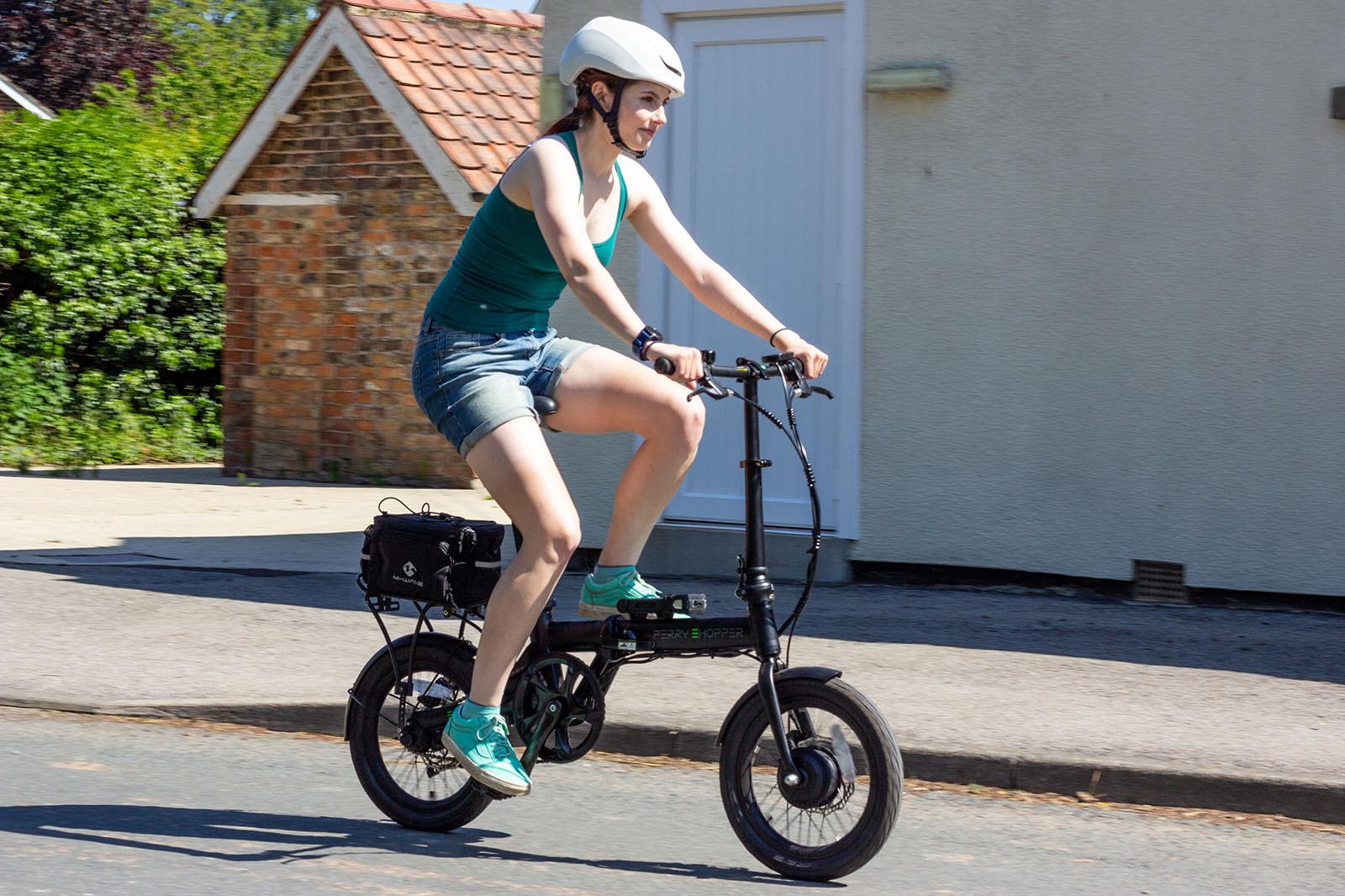 "E-bike review: Perry Ehopper 16"" Electric Folding Bike - Autocar"