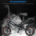 14″ Folding Electric Bicycle Bike City eBike 15AH Lithium Battery 2 N0F8 – Folding Bikes 4U