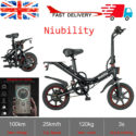 14″ Folding Electric Bicycle Bike City eBike 15AH Lithium Battery 25KM/H 400W UK – Folding Bikes 4U