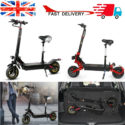 1000W/2400W Foldable Electric Scooter Portable Teen's E-Scooter w/ Seat UK H3P0 – Folding Bikes 4U